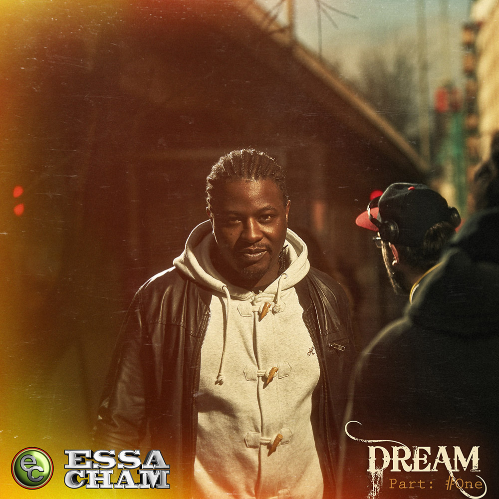 Essa Cham walks the streets of Oslo. Used as cover art for artist Essa Cham. Album called Dream by: håvard schei