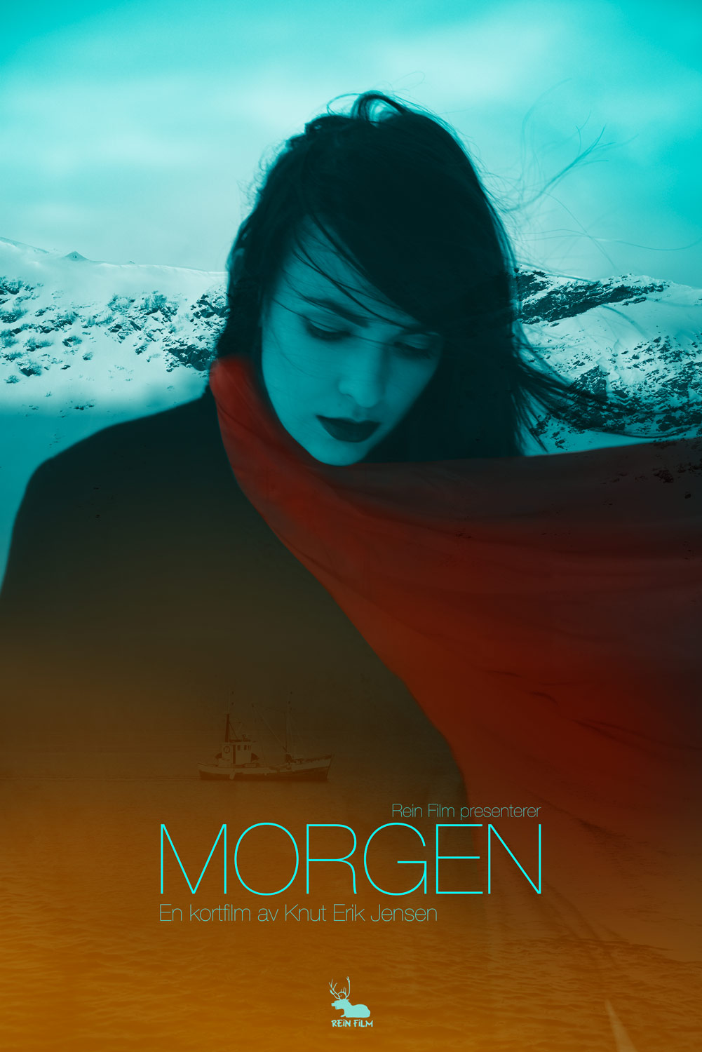 Main poster for short film Morgen/Morning by Knut Erik Jensen and Rein  Film.